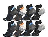 12pares HOMBRE calcetines de deporte Tiempo Libre Zapatillas Algodón 39–42; 43–46–bestsale247, color estampado 2, tamaño 39-42