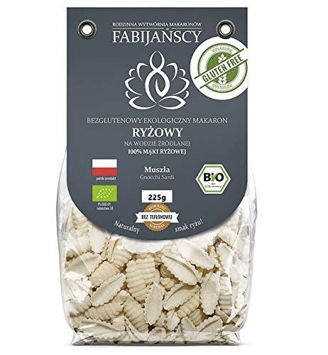 Pasta (arroz blanco) gnocchi sardi sin gluten BIO 225 g - Fabijańscy