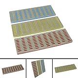 Daptez 3Pce Lime Diamant Carte Set Bricolage Outils Inclus Gros, Medium & Fin Grains