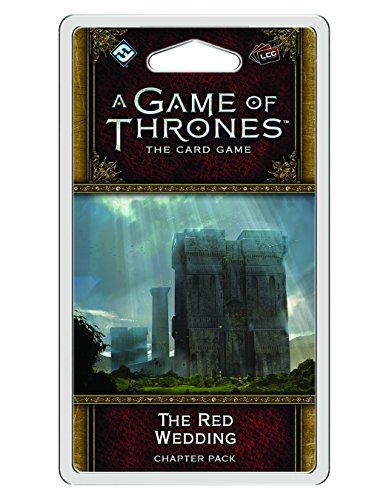 A Game of Thrones The Card Game 2nd Edition The Red Wedding CHAPTER PACK | Strategy Game for Adults and Teens | Ages 14 and up | 2-4 Players | Average Playtime 1-2 Hours | Made by Fantasy Flight Games