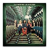 Fleetwood Mac's Album Cover – Live in Helsinki Poster,