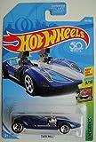 Hot Wheels Exotics 3/10, Dark Blue Twin Mill 194/365 50TH Anniversary Card