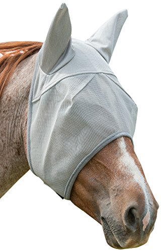 Weaver Leather Covered Ear Fly Mask with Xtended Life Closure System