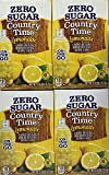 Country Time Lemonade Sugar Free On the Go! 6 Packets Powder (pack of 4) Gluten Free