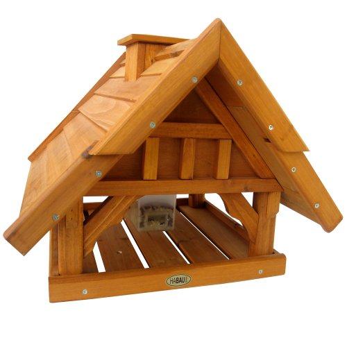 Habau 2513 Vogelhaus Lettland mit Silo und Ständer