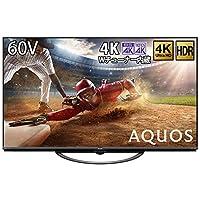 シャープ 60V型 4Kチューナー内蔵 液晶 テレビ AQUOS N-Blackパネル HDR対応 4T-C60AN1