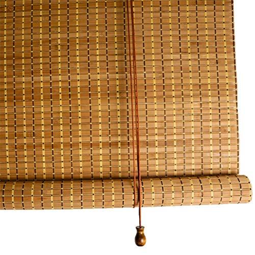 LLFF Gordijn Van bamboe Cortina de Bambú, Cortinas Retro para Cortinas, para Porche Patio Shade Exterior Roller Shade Pantalla de Privacidad Shade para Deck Pergola Gazebo (Size : 130x260cm/51x102in)