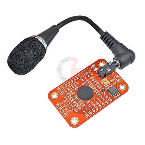 99% High Accuracy Voice Speech Recognition Module V3.1 with UART GPIO TTL 3.5mm Microphone Voice Control Board 5V for Arduino