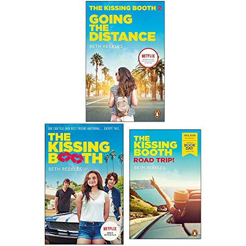 The Kissing Booth Series Collection 2 Books Set With Road Trip! World Book Day By Beth Reekles (Going the Distance, The Kissing Booth)