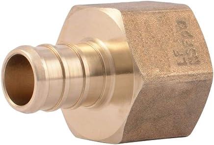 Brass 0.50 x 0.5 PEX Swivel 1//2 x 1//2 Female NPT Thread Adapter Fitting 1 pc
