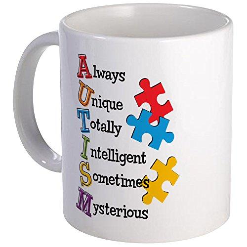 CafePress - Autism Acrostic - Unique Coffee Mug, 11oz Coffee Cup, Tea Cup by CafePress