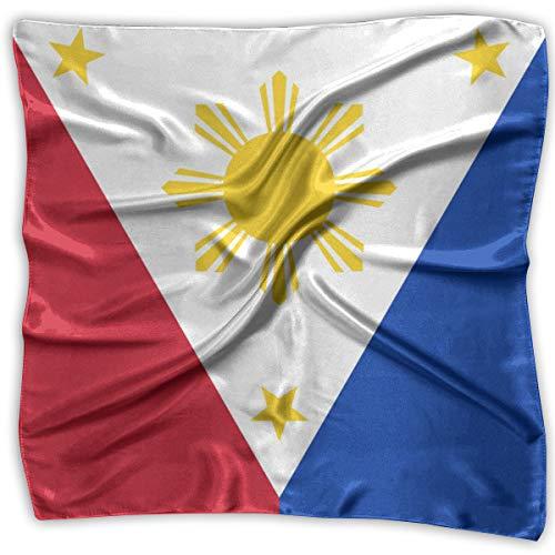 Large Square Bandana Philippine Flag Proud Neck...
