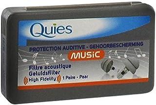 Quies Music Bouchons d'oreille à haute fidélité–Protection d'oreille–&n...