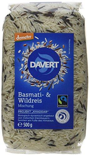 Davert Basmati- & Wildreis Mischung 4er Pack (4 x 500 g) - Bio
