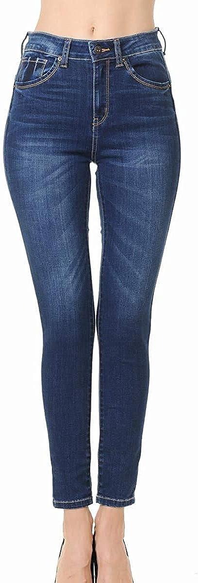 Wax Jean Super sale period limited Denim Women's Juniors Skinny in Push-Up High-Rise Cheap bargain
