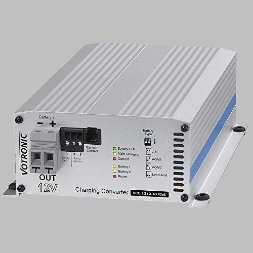 Batterie/Batterie-Lader 12V n.12V / 45A, IUoU, Ladebooster VCC