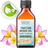 Aceite de Monoi Tiare de Tahití polinesias. 3,33120ml–100ml, tonificación, Hidratante & Anti Envejecimiento beneficios–para piel brillantes y brillante pelo.