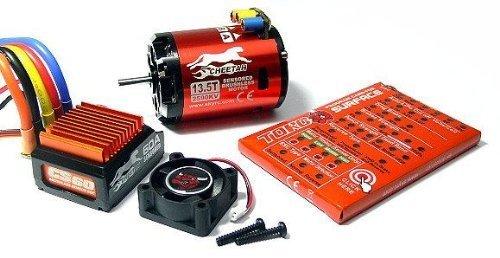 CHEETAH SkyRC 4000KV 8.5T Sensored Brushless Motor and CS60 60A ESC 1/10 Combo