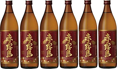 6本セット霧島酒造 本格芋焼酎 赤霧島 900ml×6本(鹿児島県)