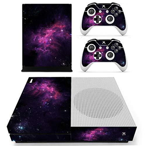 DolDer Sticker Aufkleber Skin für Xbox One S inklusive 2er-Set mit Aufklebern für Controller 0711