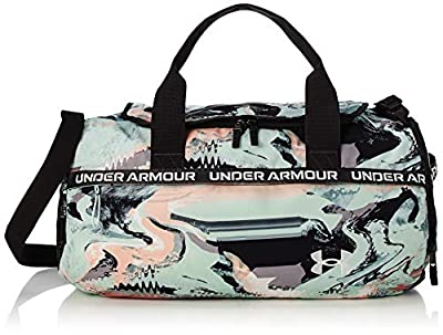 Under Armour Women's Undeniable Signature Duffle Bag , Seaglass Blue (403)/Onyx White , One Size Fits All