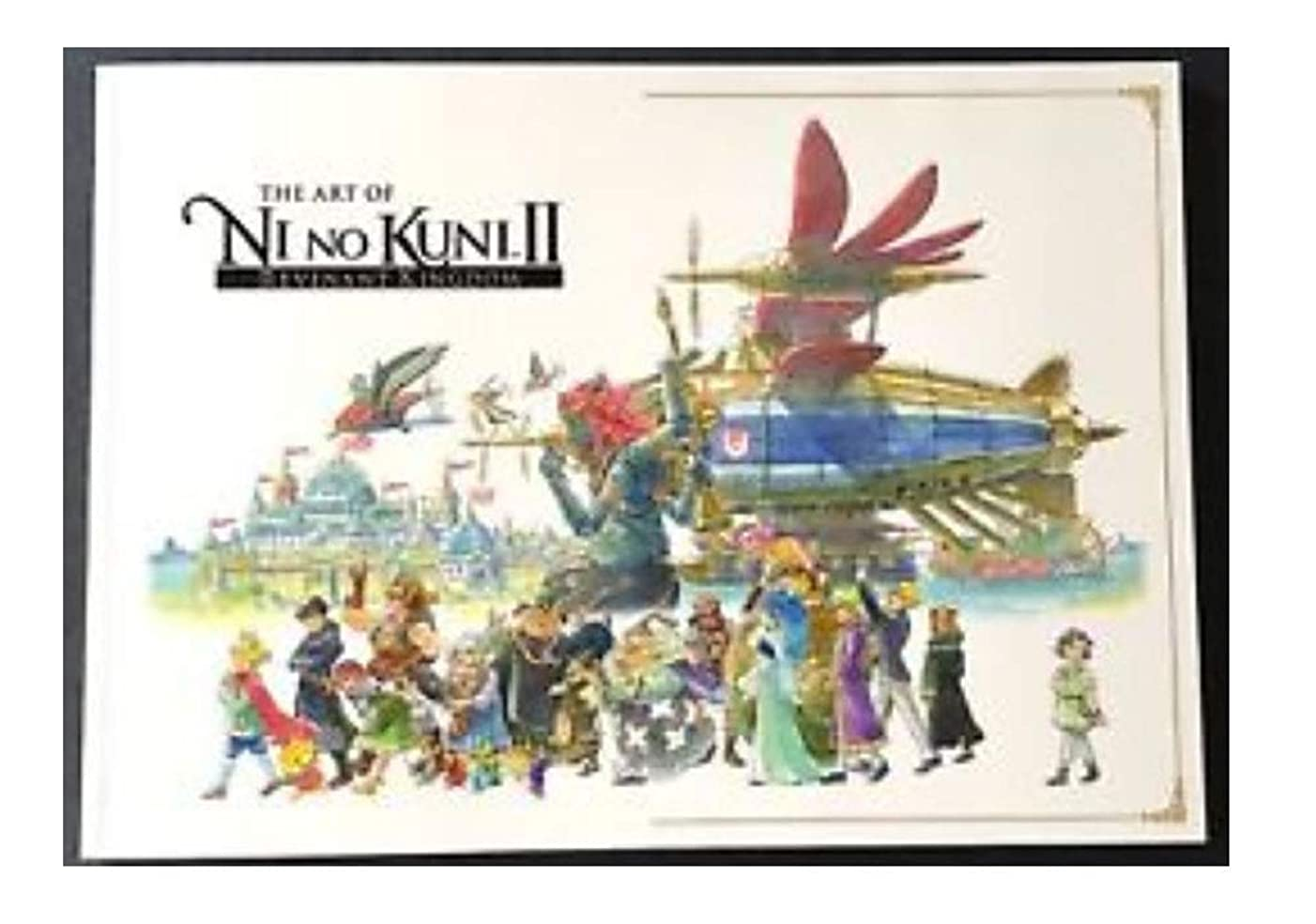 Ni No Kuni II Revenant Kingdom Collectors Edition Visual Arts Book