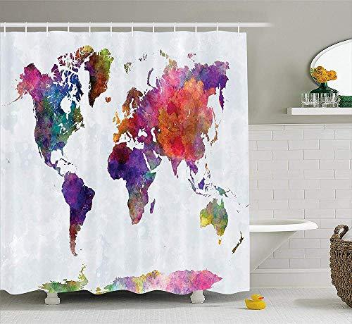 Duschvorhangfarbe Rose Close-Up Duschvorhang Schimmelfest Wasserdicht Extra Lang Badvorhang für Badezimmer mit 12 Haken