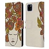 Head Case Designs sous Licence Officielle Valentina It's All in Your Head Fleur Coque en Cuir à...