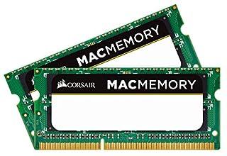Corsair Apple zertifiziert 8GB (2x4GB) DDR3 1066 MHz (PC3 8500) Laptop Arbeitsspeicher (CMSA8GX3M2A1066C7) (B00505EZYW)   Amazon price tracker / tracking, Amazon price history charts, Amazon price watches, Amazon price drop alerts