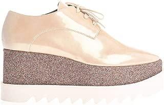 STELLA MCCARTNEY Luxury Fashion Womens 580194W1TF09301 Beige Lace-Up Shoes | Fall Winter 19