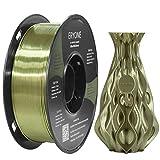 Eryone Ultra Silk PLA 3D Printer Filament 1.75mm, Dimensional Accuracy +/- 0.05 mm, 1kg (2.2LBS) / Spool, Bronze
