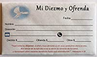 Sobre De Diezmos y Ofrenda ( Caja de 500UNIDADES。Ref : eco1