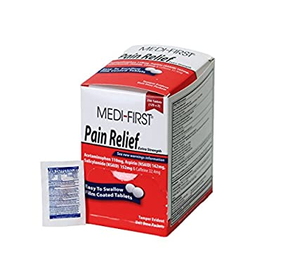 Medique Products 81113 Medi-First Pain Relief Tablets from Medique Products