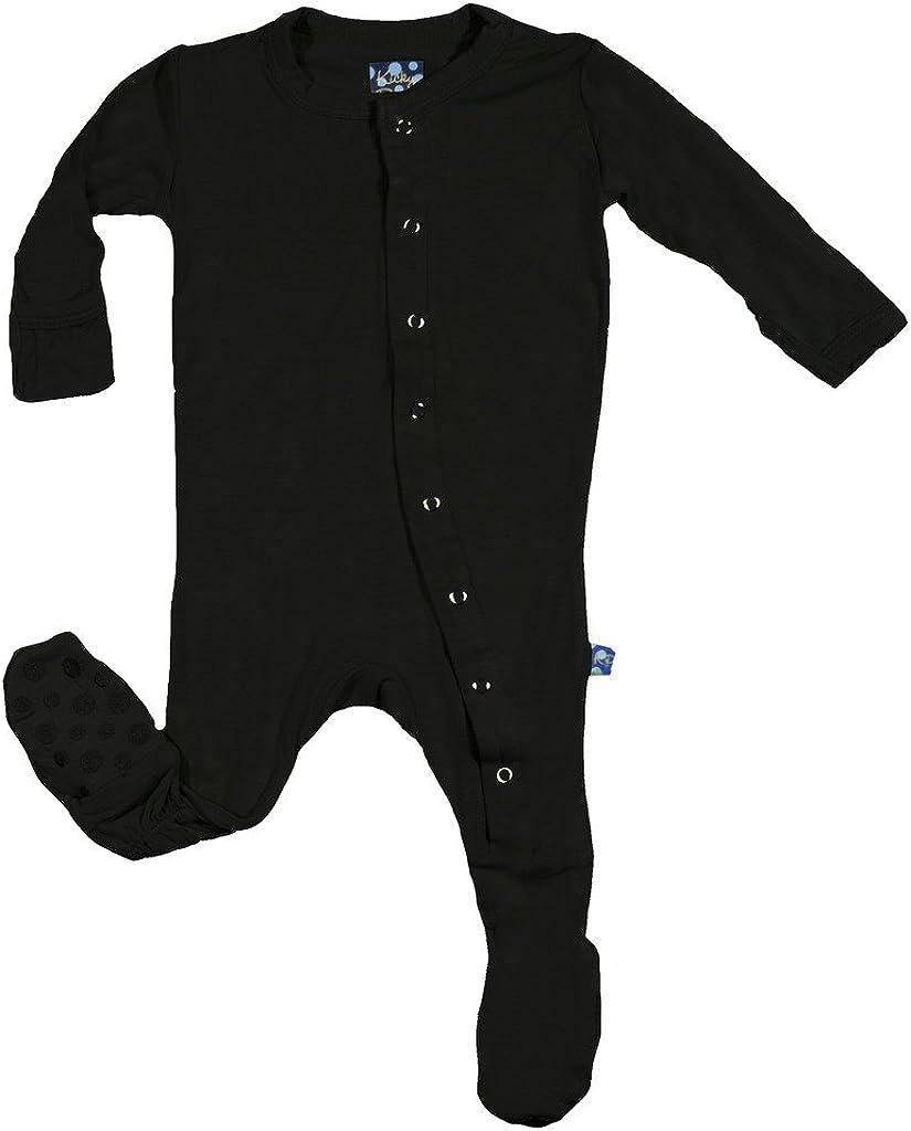 KicKee Pants Boys Footie Pajama- Midnight, 5 Years