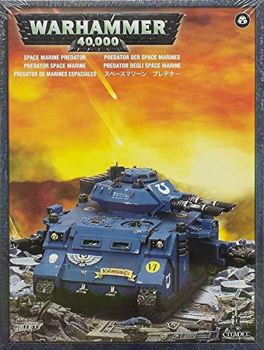 """Games Workshop 99120101214"""" Space Marine Predator Plastic Kit"""