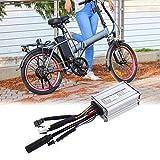 SALUTUYA Controlador para Bicicleta eléctrica Lograr Que no Haya Ruido Mejorar la eficiencia operativa 6 Tubos 17A Aumentando el kilometraje Continuo del vehículo, para Scooter eléctrico