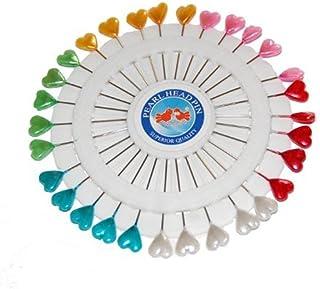 Craft Pin Wheel - Heart Shaped Pins Sewing Pins.