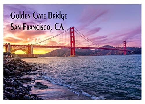 Golden Gate Bridge, Clouds, San Francisco, CA, California Magnet 2 x 3 Fridge Magnet