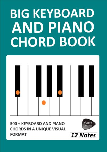 Big Keyboard and Piano Chord Book (12 Notes) (English Edition)