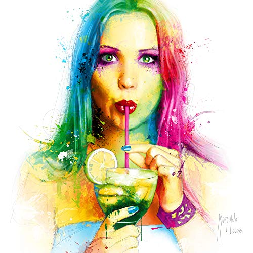 International Graphics Fertigbild - MURCIANO, Patrice - ''Salsa Caliente'' - 30 x 30 cm - Direktdruck auf Acryl
