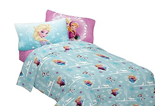 Disney Frozen Winter Hugs Flannel Sheet Buy Online In Canada At Desertcart