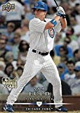 2008 Upper Deck First Edition Glossy Finish #264 Sam Fuld RC Rookie Card Chicago Cubs Official MLB Baseball Trading Card in Raw (NM or Better) Condition. rookie card picture