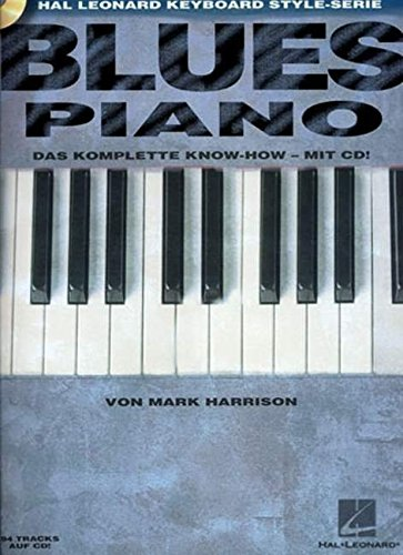 Blues Piano, m. Audio-CD