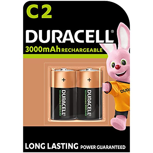 Duracell -   Rechargeable C 3000