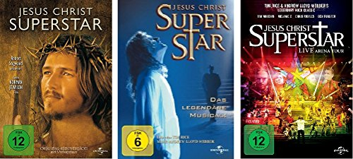 Jesus Christ Superstar - 3 DVD Set (Kinofilm, Musical, The Arena Tour) - Deutsche Originalware [3 DVDs]