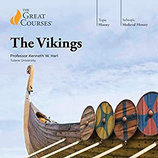 The Vikings                   By:                                                                                                                                 Kenneth W. Harl,                                                                                        The Great Courses                               Narrated by:                                                                                                                                 Kenneth W. Harl                      Length: 17 hrs and 59 mins     2,790 ratings     Overall 4.5