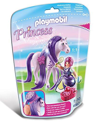 PLAYMOBIL - Princesa Viola con Caballo (61670)