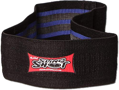 Sling Shot Mark Bell Grippy Hip Circle Exercise Bands for Men and Women (Level 2)