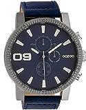 Oozoo Herren-Armbanduhr Dunkelblau 50 mm C10065