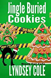 Cat Mystery books - Jingle Buried cookies